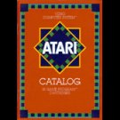 Atari 2600 1981 Large Red Catalog