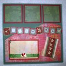 Christmas - Elegant 2-Page 12X12 Premade Scrapbook Layout