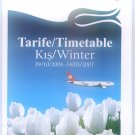 TURKISH AIRLINES - 2006-2007 WINTER DOMESTIC LINES TIMETABLE - 2. EDITION