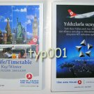 TURKISH AIRLINES - 2008-2009 WINTER DOMESTIC LINES TIMETABLE - 1. EDITION