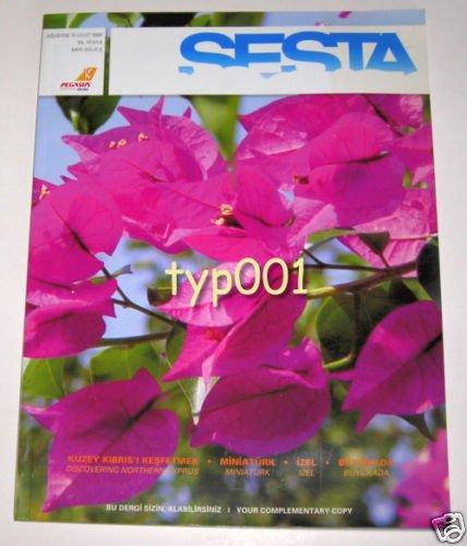 PEGASUS AIRLINES CYPRUS FLIGHTS - 2007 SPECIAL INFLIGHT MAGAZINE - SESTA