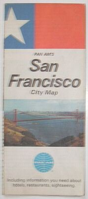 PAN AM - 1967 SAN FRANSISCO MAP & GUIDE BROCHURE