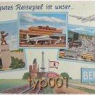 PAN AM - 1950s AT BERLIN AIRPORT POSTCARD