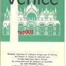 AIR FRANCE - 1964 VENICE BROCHURE