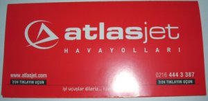 ATLASJET TURKISH AIRLINE - 2006 TICKET JACKET