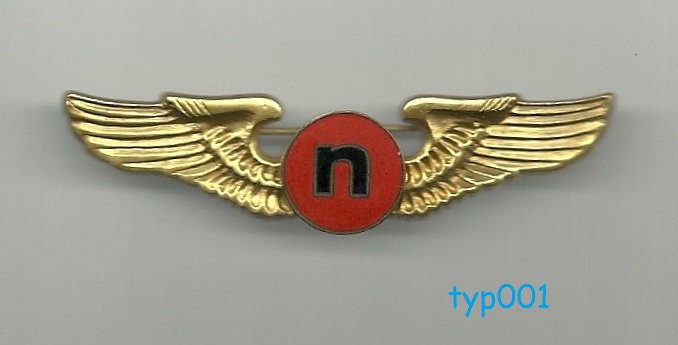 NERGIS AIR - TURKISH AIRLINE - PILOT WINGS - ULTRA RARE