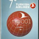 TURKISH AIRLINES - 2011-2012 WINTER SYSTEM TIMETABLE - 1. EDITION