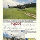 HELI ATLANTIS HELICOPTERS - MADEIRA, PORTUGAL - PRINT AD