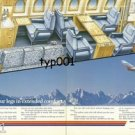 BRITISH AEROSPACE - 1988 BAe 125/800  EXTEND YOUR LEGS - CUT A WAY VIEW PRINT AD