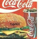COCA COLA TURKEY 1987 - GELSIN COCA COLA - A COKE  OVER HERE - TURKISH PRINT AD