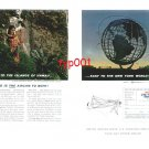 UNITED AIRLINES - 1964 - WEST TO HAWAII... EAST TO NY WORLD'S FAIR - PRINT AD