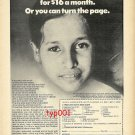 SAVE THE CHILDREN FEDERATION -1979 - SAVE ROSARIO TORRES - PRINT AD