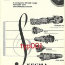 SNECMA - 1972 CONCORDE OLYMPUS ENGINES PRINT AD