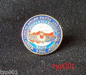 TALPA - T�RKIYE AIRLINE PILOTS ASSOCIATION - LOGO PIN - TURKISH