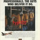 UPS 1998 NAGANO JAPAN WINTER OLYMPICS PRINT AD - HOCKEY