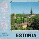 AEROFLOT 1980 ESTONIA PUBLICITY  BROCHURE - MOSCOW OLYMPICS - SAILING IN TALINN