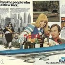 KLM - 1976 - FROM PEOPLE WHO FOUNDED NEW YORK  PRINT AD