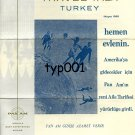 PAN AM - 1968 TRAVEL TALK TURKEY - GET MARRIED RIGHT AWAY - BROCHURE IN TURKISH