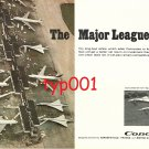 AEROSPATIALE & BRITISH AIRCRAFT CORP 1972 - CONCORDE PRINT AD - THE MAJOR LEAGUE