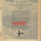 SWISSAIR - 1967 - RESPECTS YOUR PRIVACY PRINT AD - FRENCH