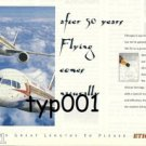 ETHIOPIAN AIRLINES - 1998 - AFTER 50 YEARS FLYING COMES NATURALLY PRINT AD
