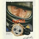 OMEGA - 1998 - MICHAEL SCHUMACHER'S CHOICE PRINT AD - FORMULA 1 PILOT