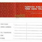 TURKISH AIRLINES 2008 - BAGGAGE TAG - STAR ALLIANCE