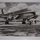 KLM - 1946 DOUGLAS DC-4 REAL PHOTO POSTCARD