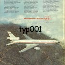 MCDONNELL DOUGLAS - DC-10 PRINT AD