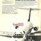 MCDONNELL DOUGLAS - 1972 DC-9 PRINT AD