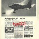 PIPER 1972 - NEW CHEROKEES PRINT AD