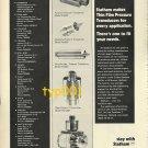 STATHAM - 1973 - TRANSDUCERS PRINT AD