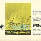SFENA - 1973 - TOP QUALITY AVIATION EQUIPMENT PRINT AD - FRANCE