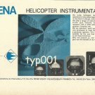 SFENA - 1973 - HELICOPTER INSTRUMENTATION PRINT AD - FRANCE