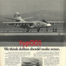 NORTHROP - 1972 - A-9A FIGHTER PRINT AD