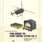 BODENSWERK GERATETECHNIK - 1973 - GYRO & FLIGHT CONTROL SYSTEM PRINT AD