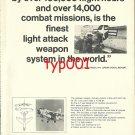 VOUGHT AERONAUTICS - 1972 - A7E ATTACK JET PRINT AD