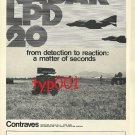 CONTRAVES- 1973 - RADAR PRINT AD - ITALY