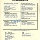 UTA CRMA - 1973 AVIATION SERVICES PRINT AD - FRANCE