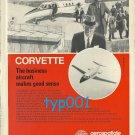 AEROSPATIALE - 1972 - CORVETTE JET PRINT AD