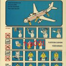 TURKISH AIRLINES - 2000 - AIRBUS A310-200 & A310-300 SAFETY CARD - 02