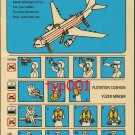 TURKISH AIRLINES - AIRBUS A310-300 SAFETY CARD - 01