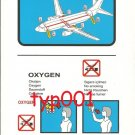 TURKISH AIRLINES - 2005 - BOEING B737-800 SAFETY CARD - 02