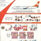 TURKISH AIRLINES - BOEING B737-800 SAFETY CARD - 06