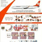 TURKISH AIRLINES - 2009 - BOEING B737-800 SAFETY CARD - 07