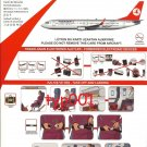 TURKISH AIRLINES - 2010 - BOEING B737-800 SAFETY CARD - 08