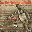 BERLIN 1936 OLYMPICS PROGRAM - REICHSHAUPTSTADT - CAPITAL BOOKLET - SUPER RARE