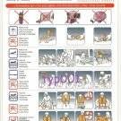 ATLASJET AIRLINES - BOEING B-757-200 SAFETY CARD - TURKISH