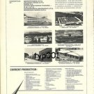 CIRSEA SPA - 1973 - ITALIAN AEROSPACE INDUSTRY CONSORTIUM PRINT AD