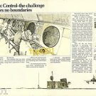 RAYTHEON - 1973 - AIRPORT AIR TRAFFIC CONTROL PRINT AD